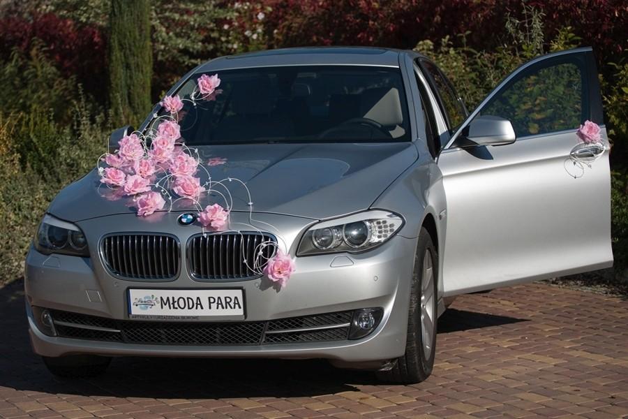 82197235e7355e Zestaw do dekoracji samochodu - Laura Jasny Róż