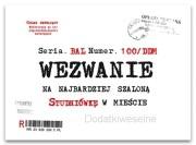 Zaproszenie Na Studniówkę Zx5200